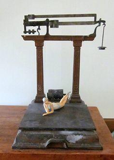 HUGE antique Cast Iron  metal brass industrial   by welovelucite, $450.00