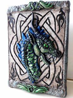 Dragon Box Polymer Clay by SuSaBe