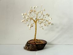 Your place to buy and sell all things handmade Wire Tree Sculpture, Wire Trees, Unique Baby Gifts, Handmade Wire, Baby Room Decor, Tree Of Life, Wire Jewelry, Birthstones, Etsy Shop