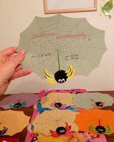 Anleitung: Fledermaus Einladungskarten Für Den Kindergeburtstag, Die  Hexenparty Oder Halloween Basteln. | Kindergeburtstage Feiern | Pinterest |  Basteln, ...