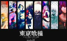 Tokyo Ghoul Characters Anime Wallpaper