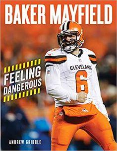 Baker Mayfield Nfl, Cleveland Browns Wallpaper, Brown Wallpaper, Football Helmets, Feelings, Books, Brownies, Amazon, Sports