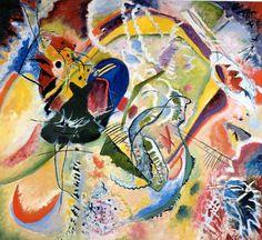 """Wassily Kandinsky - """"Improvisation 35"""", 1914"""