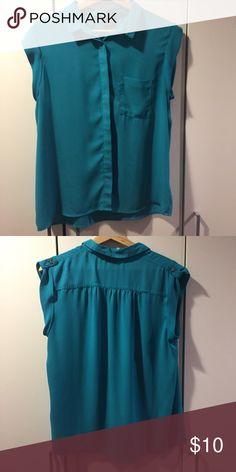 Mossimo Short Sleeve Blouse Like New Mossimo Short Sleeve Blouse Mossimo Supply Co. Tops Blouses