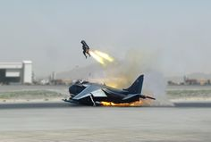 Harrier ejection - Mk12 Ejection Seats, Royal Air Force