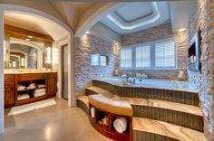 spa bathroom   Spa Style Bathroom