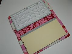 How to Make a Checkbook Holder/Wallet