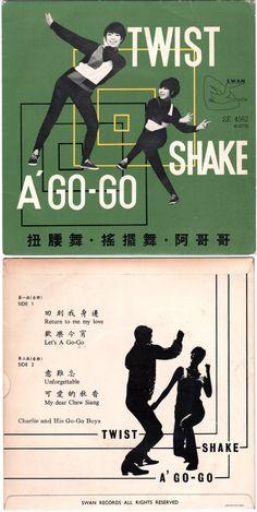 Charlie & His Go-Go Boys — Twist, Shake, Á Go-Go