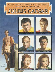 characteristics of julius caesar in the play