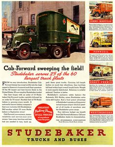 Studebaker Trucks ad, 1937 Who Knew Studebaker went THAT big??