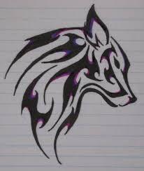 Risultati immagini per lupi disegni