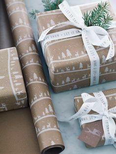 Pinterest: iamtaylorjess | Christmas gift wrapping
