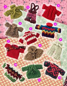 Berroco® Free Pattern | Minutia '09--I've made a bunch of these, they make great little gifts!