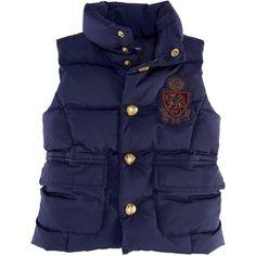 Ralph Lauren Childrenswear Toddler Girls' Tartan Wrap Kilt ($23) found on Polyvore