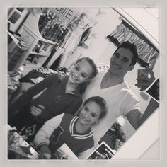 Maddie and Mackenzie Ziegler with James #DanceMoms | Dance ... Brooke Hyland And Kevin Cosculluela