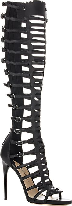 Paul Andrew Athena Gladiator Sandals - Heels - Barneys.com