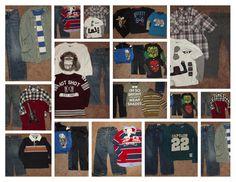 Huge 28pc Boy's Fall School Clothing Lot sz 5-6 Gymboree Gap Jeans Shirts  #Gymboree #Everyday