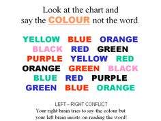 Words Brain Games Colors Increase Your Minds Twitch Reaction Skills at http://www.failedmemory.com