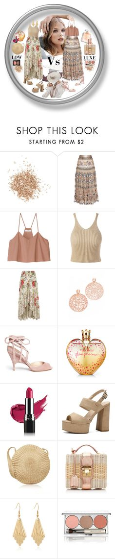 """""""Luxe or Not"""" by ohnoflo ❤ liked on Polyvore featuring Topshop, Tiffany & Co., Etro, TIBI, River Island, Bronzallure, Alchimia Di Ballin, Vera Wang, Charlotte Tilbury and Avon"""