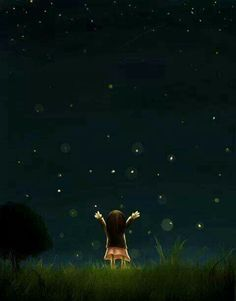 Dear Lord, please send me a man that will eagerly take me to the middle of nowhere so I can watch the stars and fireflies dance.