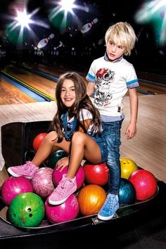 Whenever they go bowling Colgate has to help his sister bring along her entire bowling ball collection.  Why, oh why, can't she fall in love with another sport?  Say, for example, ping pong?