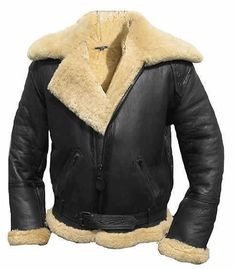 86f52025d950  Hand Made  Belted Buckle  Fur Collar Waist Cuffs  Genuine  Leather Jacket  Δερμάτινα Σακάκια