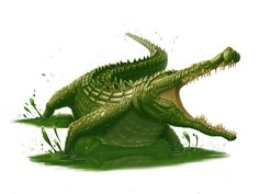 Giant+Crocodile+for+Paizo+by+MichaelJaecks.deviantart.com+on+@deviantART