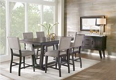 Hill Creek Black 5 Pc Rectangle Dining Room . $777.00. Find ...