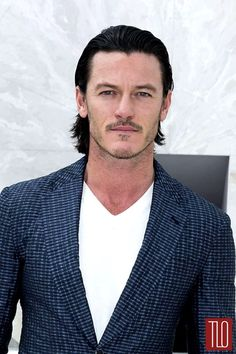 luke evans actor | Pictures of Luke Evans At The 2015 Louis Vuitton Spring Fashion Show