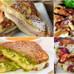 10 Grilled Cheese Recipes You Never Knew Existed - Forks 'n' Flip Flops Moist Banana Bread, Banana Bread Recipes, Sausage Casserole, Breakfast Casserole, Lemon Basil Chicken, Creamy Mac And Cheese, Side Dishes For Bbq, Grilled Cheese Recipes, Salad Recipes
