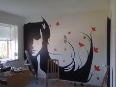 Easy Wall Mural Ideas | Simple Wall Murals Art 500x375 Simple Wall Murals Design Inspiration