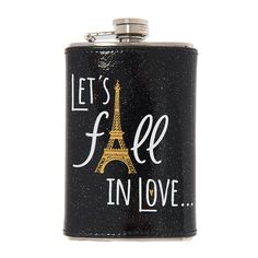 Paris Let's Fall in Love Flask | Icing