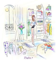 Illustration Girl, Girl Illustrations, Morning Beauty Routine, Me And My Dog, Fall Is Coming, Cute Drawings, Flower Power, Images, Girly Girl