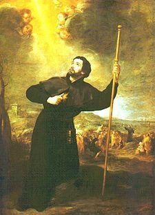 San Francesco Saverio in un dipinto di Bartolomé Esteban Murillo