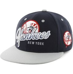 '47 Brand Men's New York Yankees Navy Tricky Lou Adjustable Snapback Hat - Dick's Sporting Goods