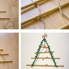 9 ideas para tu mini árbol de Navidad - Mercería La Costura Diy, Ideas, Mini Christmas Tree, Christmas Balls, Christmas Ornaments, Bricolage, Do It Yourself, Thoughts, Homemade