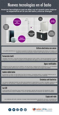 Infografía Nuevas tecnologías en el baño