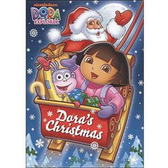 Dora the Explorer: Dora's Christmas: Present For Santa¡Feliz Navidad! Dora and Boots want to… Dora Cartoon, Dora Games, Madrid, Nickelodeon, Dora The Explorer, Christmas Movies, Merry Christmas, Holiday Movies, Scouts