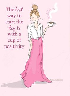 A cup of positivity, please!
