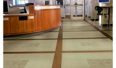 Naturally influenced designs offering high style and low maintenance make LVT the perfect option for commercial spaces.