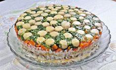 W garach u Gosi: Sałatka grzybowa polana Camembert Cheese, Dairy, Food, Eten, Meals, Diet