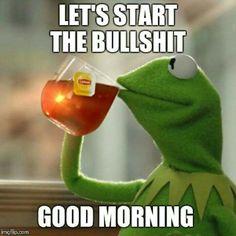 #Kermit / Feeling Ornery...it's Friday!!