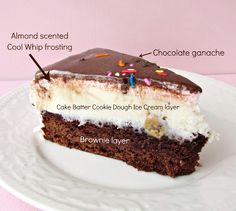 Brownie Ice Cream Birthday Cake - Crazy for Crust
