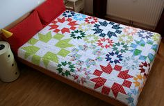star-plus quilt   by Claudia/machen and tun