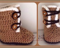 Crochet baby girls, Crochet baby and Trainers on Pinterest