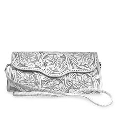 Take a look at this White Katherine Clutch by Adam Alexis on #zulily today!