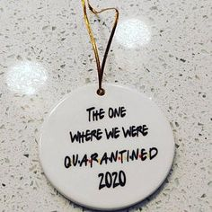 2020 Funny 6 Feet Christmas Quarantined 2020 Christmas | Etsy Secert Santa, Friends Tv Show Gifts, Office Parties, Gift Quotes, Xmas Decorations, Christmas Humor, Mother Day Gifts, Party Gifts, Stocking Stuffers
