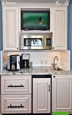 8 Best Mini Fridge In Cabinet Images Furniture Basement