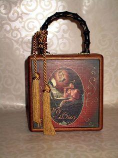 My Diary Cigar Box Purse