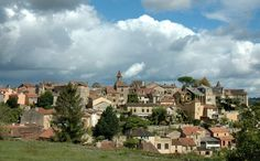 A village in Aquitaine, France